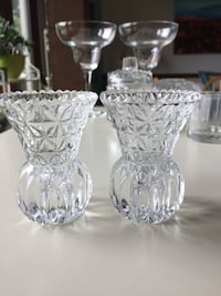 Glass candle holders Trinity, 27370