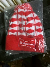 Brand new Budweiser touque
