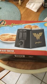 Wonder Woman toaster- New in Box and original packaging