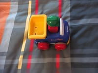 blue and yellow car toy Granby, J2G