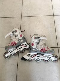 Kids Girls Adjustable RollerBlades