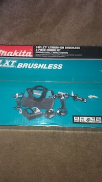 MUST GO 18V LXT LITHIUM-ION BRUSHLESS 2-PEICE COMBO KIT MUST GO!!! BRAND NEW COMES AS SEEN IN $200 $200 $200