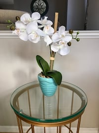 Faux White Orchid Arrangement  37 km