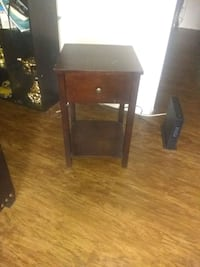 brown wooden side table San Antonio, 78249