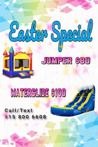 Bounce house and inflatables rental El Paso