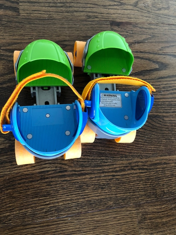 Fisher price grow with me roller skates