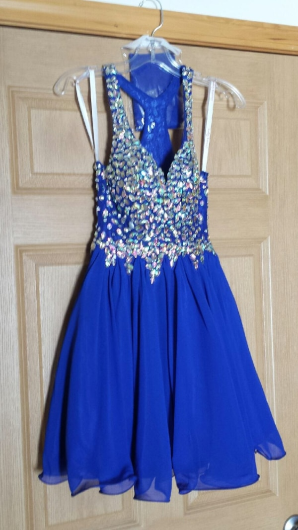 742d04efd3 Used blue homecoming dress for sale in Kent - letgo