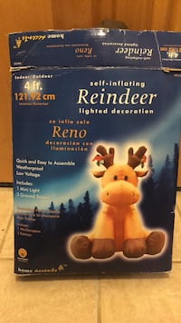 Self inflating reindeer Fairfax, 22030
