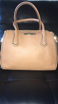 women's brown leather tote bag Terrebonne, J6W 1T5
