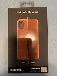 Nomad Rugged Leather Case iPhone X
