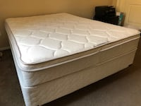 white and gray bed mattress Bakersfield