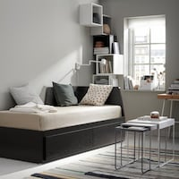 Daybed w/ 2 drawers Montréal, H2Z
