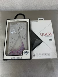 Brand new iPhone 6 Plus Case & Premium Tempered Glass Screen Protector