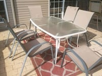 Patio Table and 6 Chairs Maryville