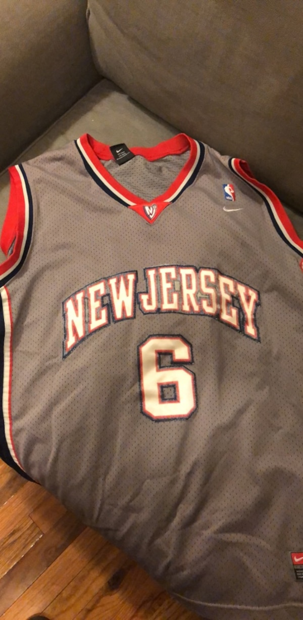 the latest 4eb1d a1981 NJ Nets Nike Kenyon Martin Jersey