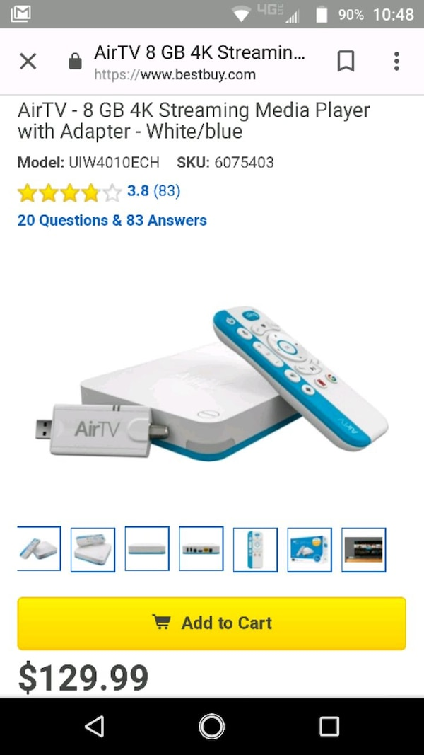 AirTV Player + Antenna Adapter!