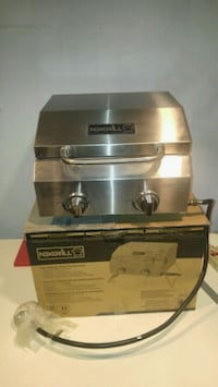 stainless steel and black gas grill New Bedford, 02745