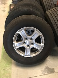 5 Jeep Wrangler jl sport wheels and tires. Stafford, 22554