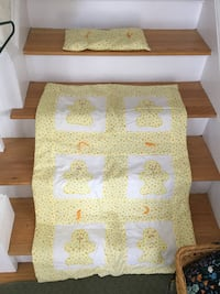 Quilt for baby with pillow.....handmade and never used Waltham, 02453