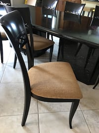 Chairs in excellent condition. High end solid can made. Pet and smoke free home. 8 available  Caledon, L7E 0C1