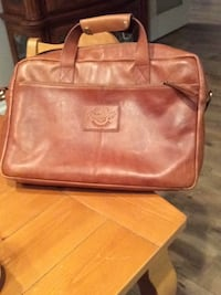 brown leather Coach crossbody bag Herndon, 20170