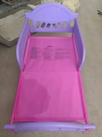pink and purple plastic bed frame Copperas Cove, 76522