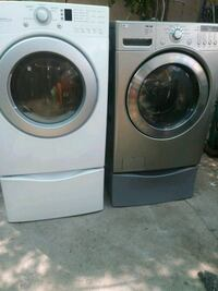Pretty clean LG gas dryer and waher machine North Las Vegas, 89030