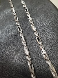 Brand New Sterling Silver Custom Rope Chain Burnaby