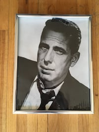 Framed picture of Humphrey Bogart 12 inches by 14.5 inches  Vancouver, V6H