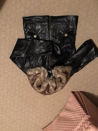 Jacket for kids faux leather size 8 Vaughan, L4L