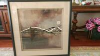 Syncopation 1 Framed and matted print Mississauga, L4Y 3J8