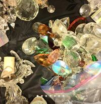 Over 200 pcs of chandelier crystals  Toronto, M6B 4H4