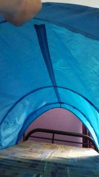 Blue canopy for twin bed New Lowell, L0M 1N0