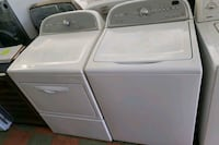 WHIRLPOOL CABRIO TOP LOAD WASHER AND GAS DRYER SET San Clemente