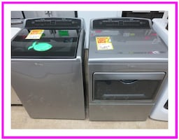 New Scratch & Dent Whirlpool Washer & Dryer