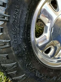 gray 5-spoke vehicle wheel and tire Citrus Heights, 95610