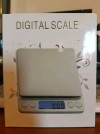 New Digital scale with 2 trays 500 to 0.01 Grams Drumbo, N0J 1G0