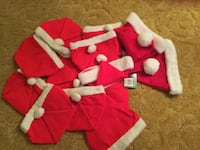 red-and-white Christmas hat lot Columbus, 78934