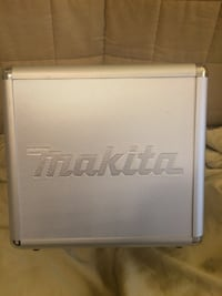 Metal MAKITA Power Tool Storage Case Box -- CASE ONLY