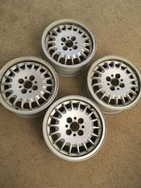 "Four 14"" Wheels ""Bottlecaps"" fit Honda BMW Acura Integra  Silver Spring, 20910"