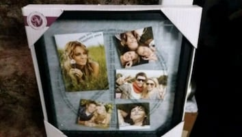 GLASS FLOAT COLLAGE FRAME