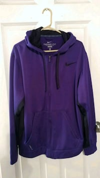 Nike purple therma- fit zip up Size XL Mount Healthy, 45231