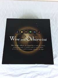 1997 Wise and Otherwise Board Game - Around the world proverbs old sayings Severn, 21144