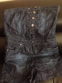 women's blue denim short shorts Montréal, H3W 1P7