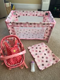 Doll crib and carrier
