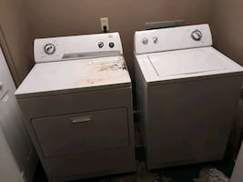 Whirlpool super capacity washer/dryer