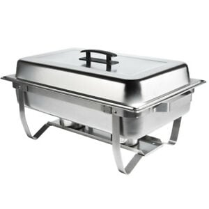 STAINLESS STEEL CHAFING DISH, NEW
