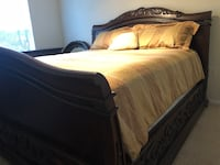 King Sleigh Bed, Dresser/Mirror, and Armoire Fairfax, 22030