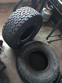 two vehicle tires