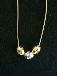 gold-colored pendant necklace Oshawa, L1J 1P3